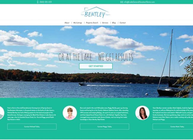 team bentley web design