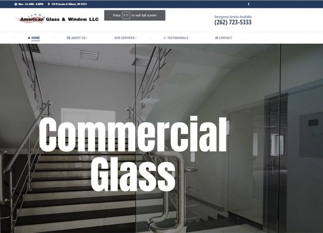 glass guys website port